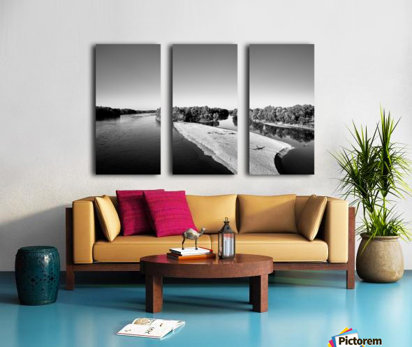 Dreamy Horizon Split Canvas print