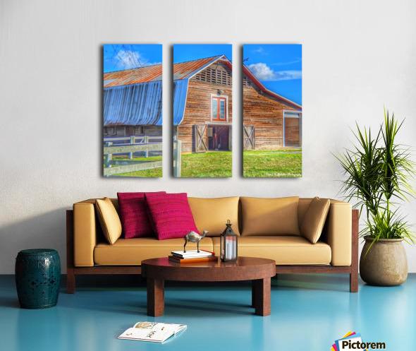 Barn Life..... Split Canvas print