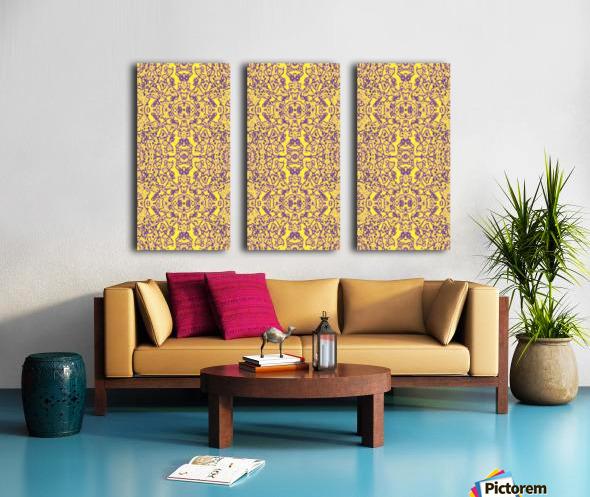GOLDEN BEAR  Split Canvas print