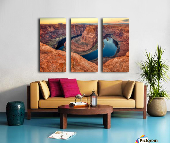 Ring Of Fire Split Canvas print