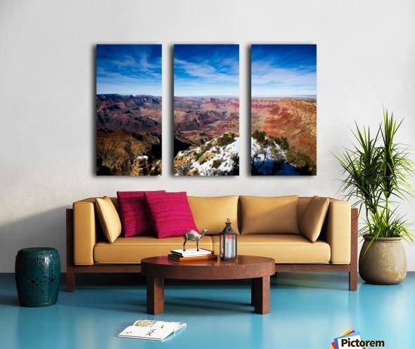 Grand Canyon Split Canvas print