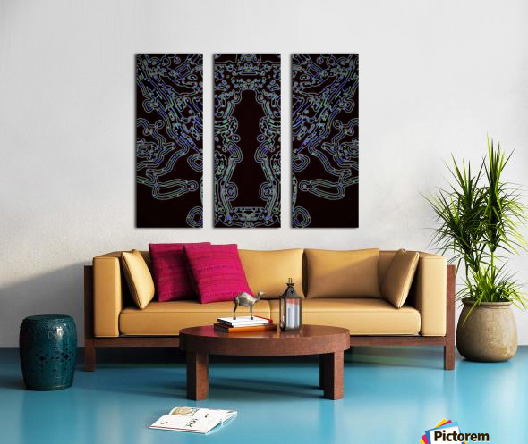 GODDESS FIGURE  Split Canvas print