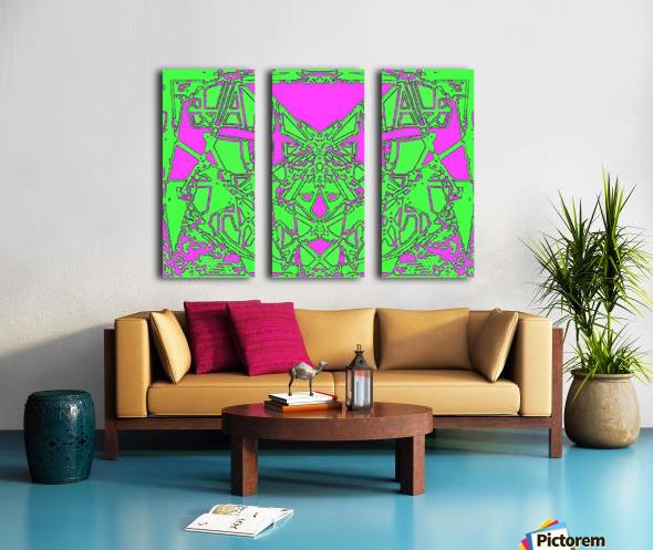 Talis Split Canvas print