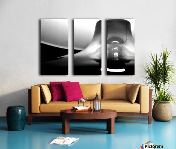 Here Alone Split Canvas print