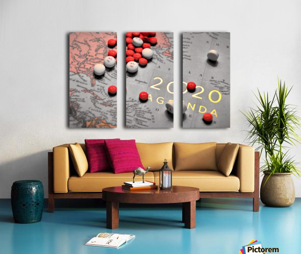What Do You See Split Canvas print