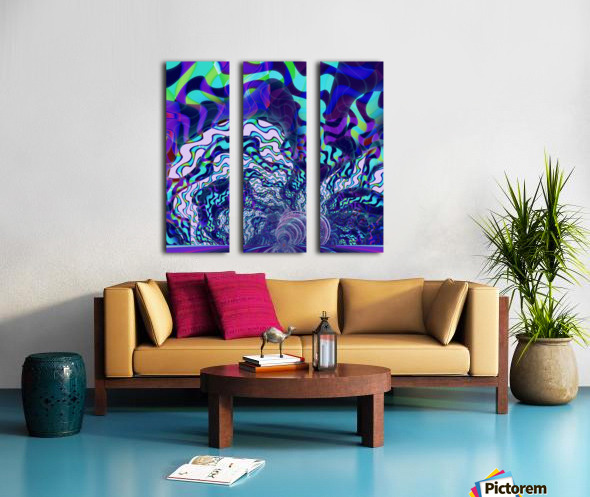 Digital_Tornado_Take_2 Split Canvas print