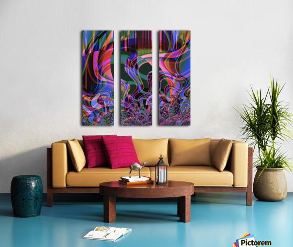 Aurora_Borealis Split Canvas print