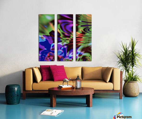 Give_It_A_Blow Split Canvas print