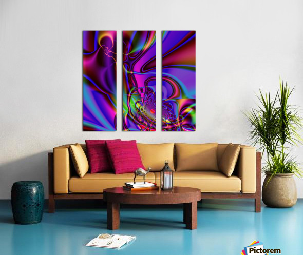 Hasta_El_Fuego_2 Split Canvas print