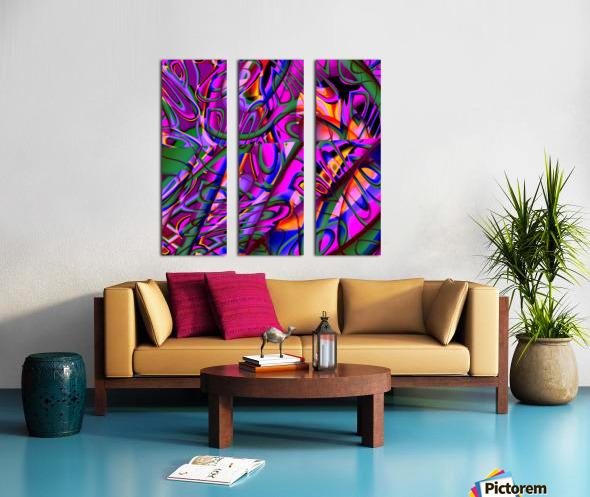 Jazz_Fusion_Series_3 Split Canvas print
