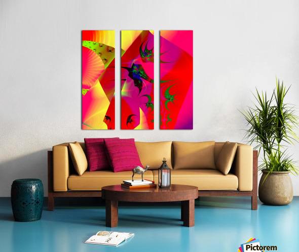 Sun_Flies Split Canvas print