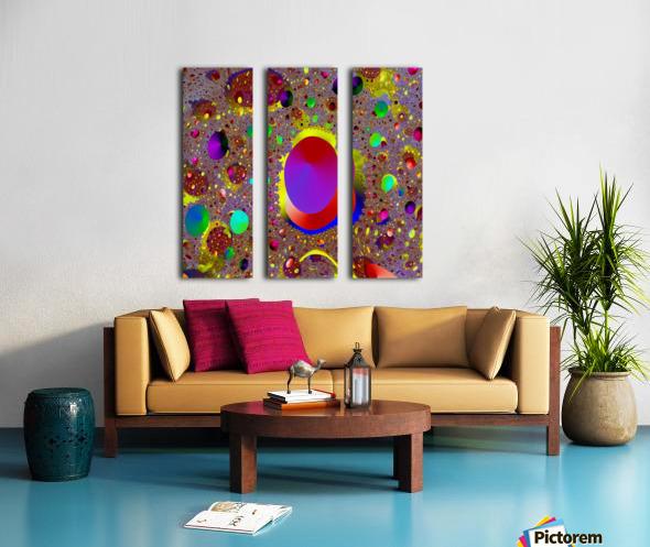 La_Playa_Encantada_Take_2 Split Canvas print