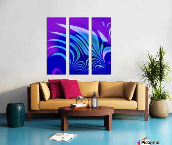 Enchanted_Swamp_Series Split Canvas print
