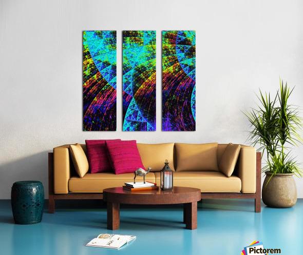 Mandala_a_la_Sierpinski Split Canvas print