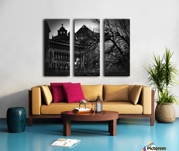 Volksbad Split Canvas print
