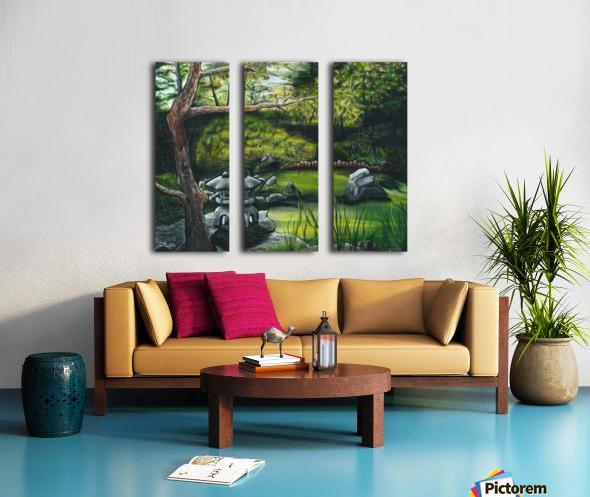 Minnesota Arboretum Split Canvas print
