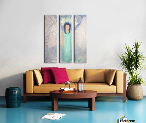 Belonging to the Angels Split Canvas print
