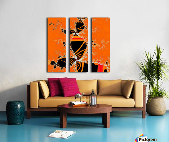 Nefertiti Split Canvas print