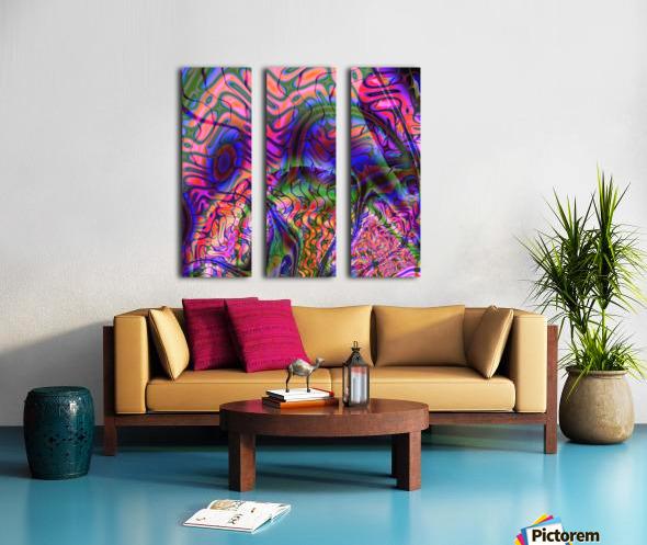 Acid_Jungle_Trip_9 Split Canvas print