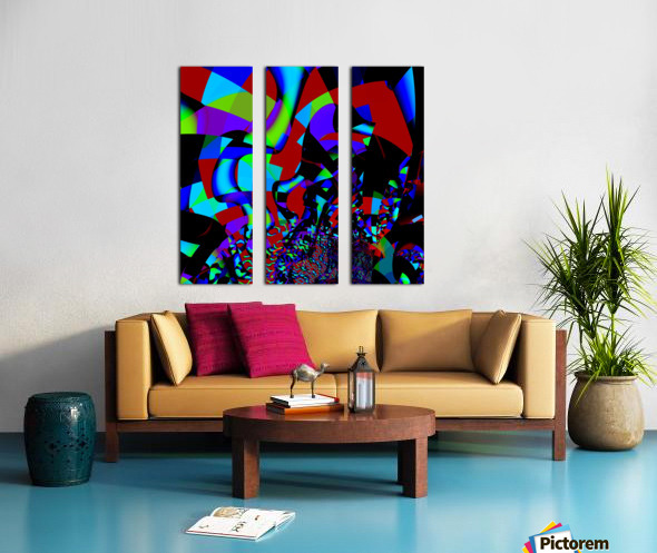 Jazz_Fusion_Series_1 Split Canvas print