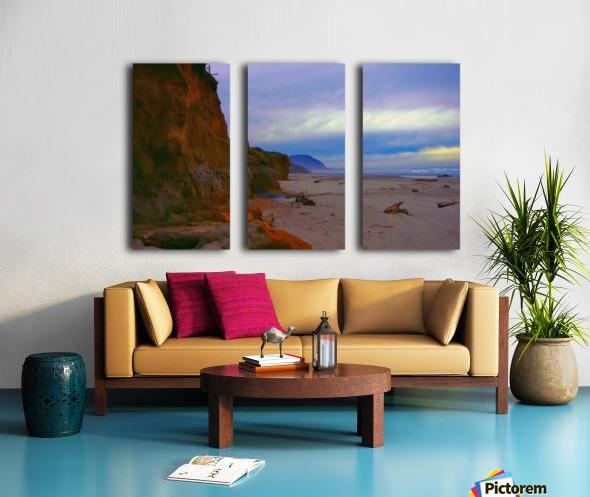 At the Coast Split Canvas print