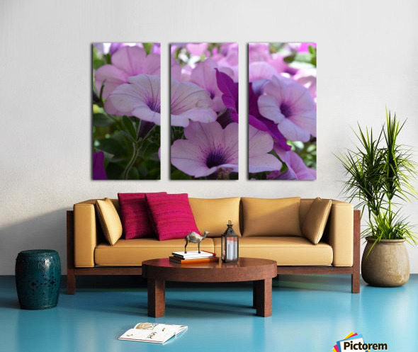 Floral Photography  Split Canvas print