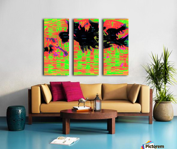 Venus Mercury 72 Split Canvas print