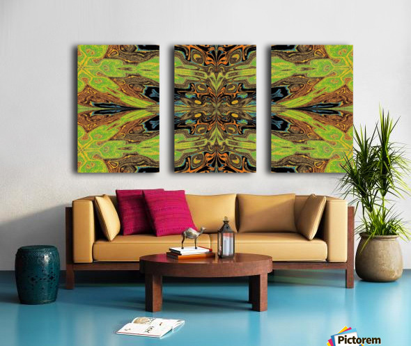 Garden Butterfly Split Canvas print