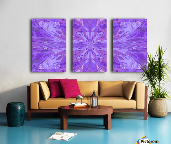 Abstract Butterfly 13 Split Canvas print