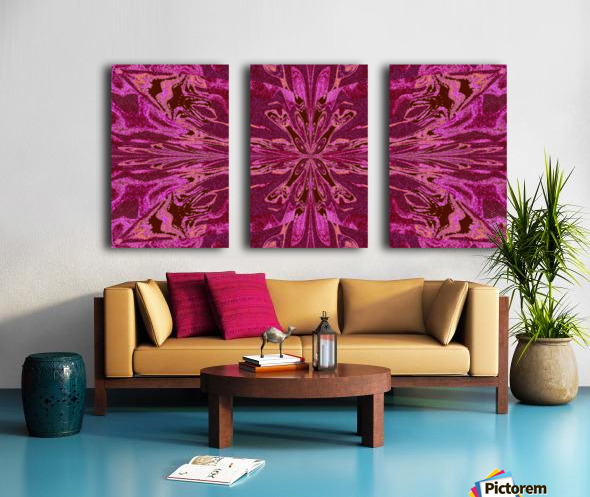 Abstract Butterfly 16 Split Canvas print