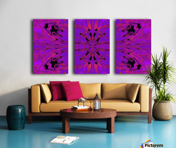 Abstract Butterfly 48 Split Canvas print