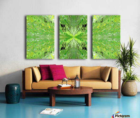 Butterfly in Crystal 70 Split Canvas print