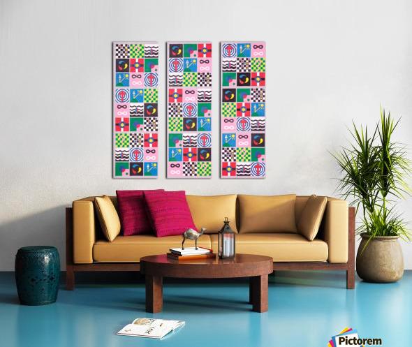 sudokolor Split Canvas print