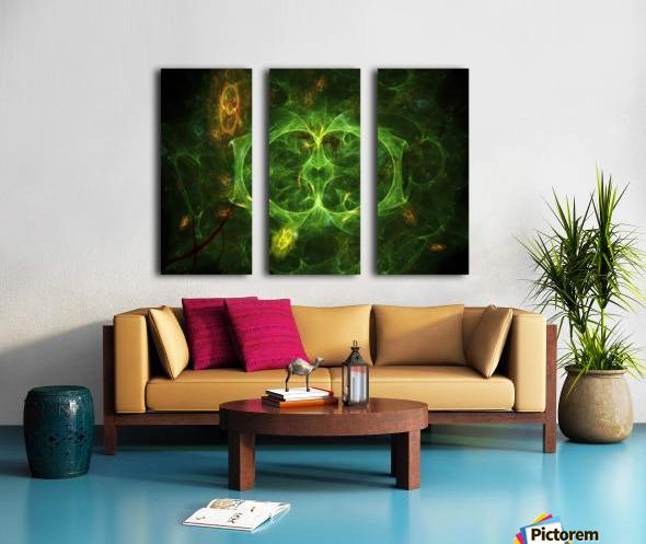 Biosecret e Split Canvas print