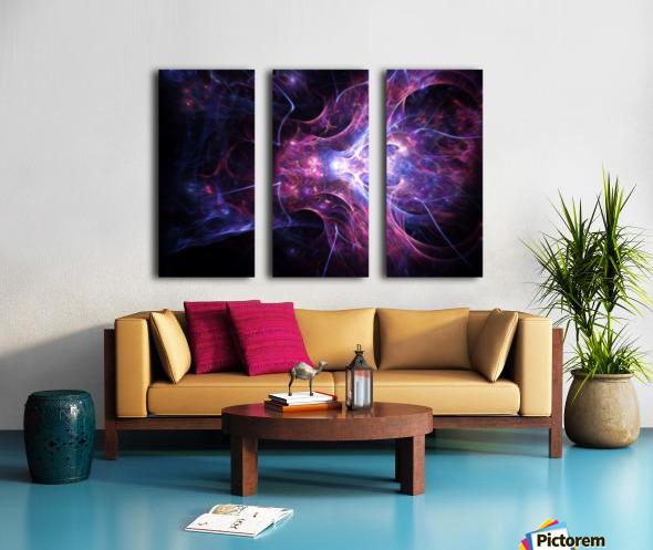 Exploration e Split Canvas print