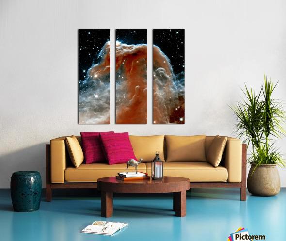 Horsehead Nebula In Space Split Canvas print