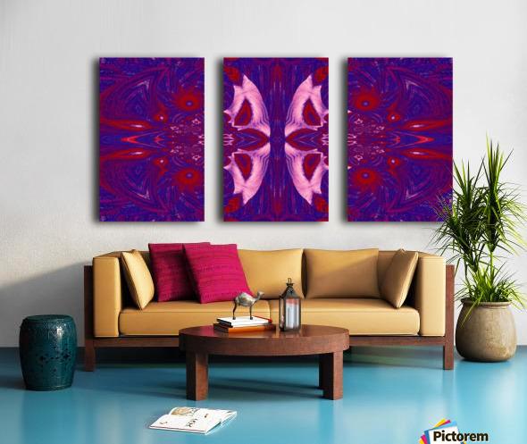 Strange Little Butterfly Split Canvas print