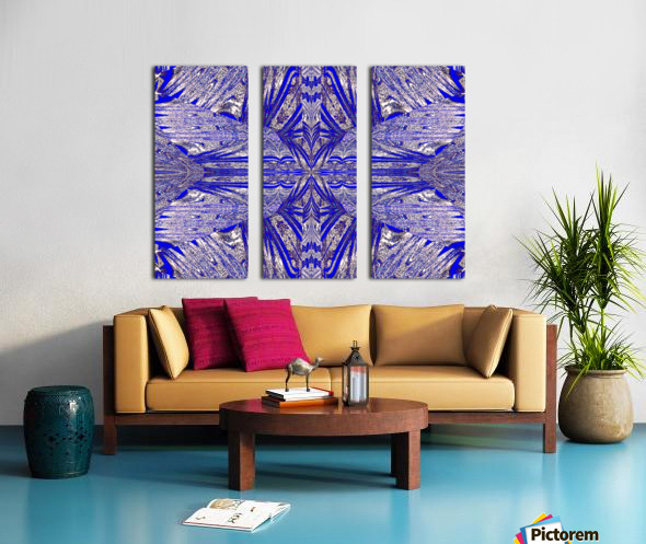 The Butterfly Inside Split Canvas print