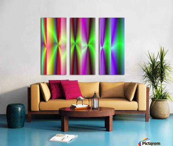 Roll_Roll_Roll Split Canvas print