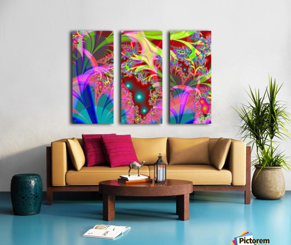 Tangerine_Island_3 Split Canvas print