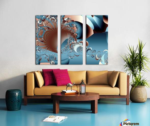 Gargantuan_Hatching Split Canvas print