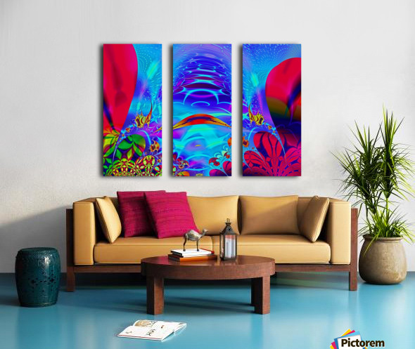 Sea_Bottom_3 Split Canvas print