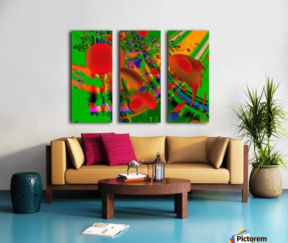 Tangerine_Island_7 Split Canvas print