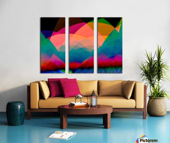 Mountain_View Split Canvas print