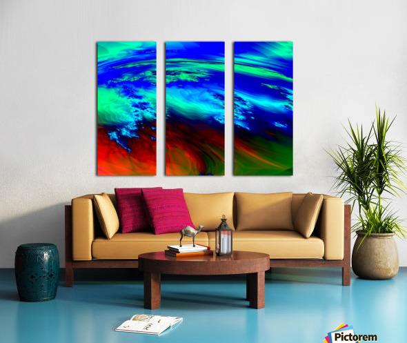 Weather_Report_27 Split Canvas print