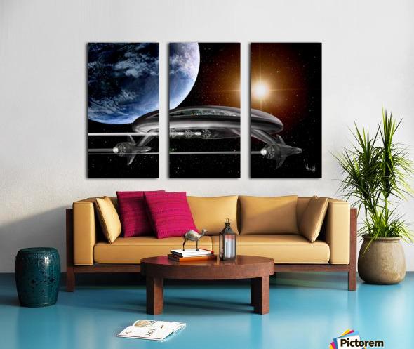 LIghtship Solaria Split Canvas print