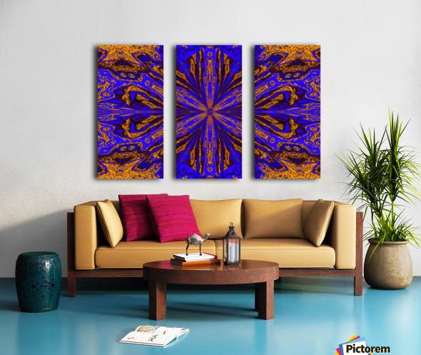 Wild Lillies 6 Split Canvas print