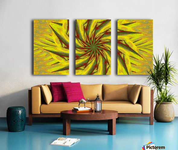 A Flower in the Wind 1 Split Canvas print