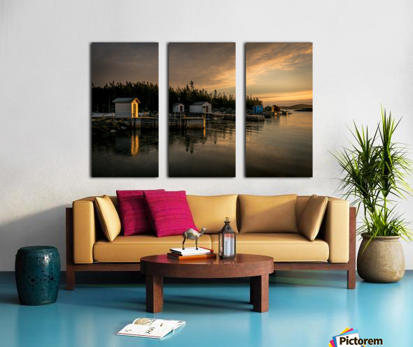 Little Burnt Bay Split Canvas print