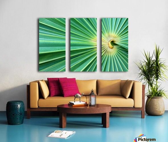 Spreading the Green Split Canvas print